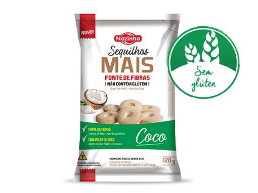 Sequilhos  Mais de sabor Coco