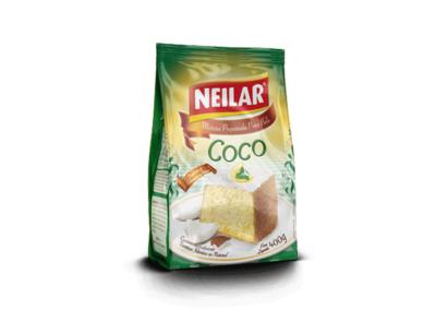 Mistura para Bolo com Sabor Coco