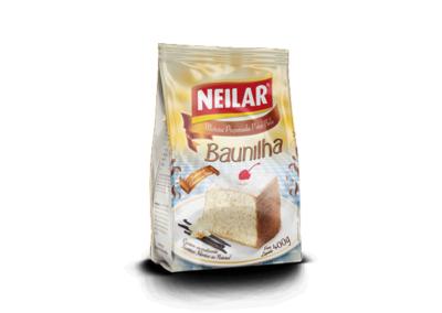 Mistura para Bolo com Sabor Baunilha