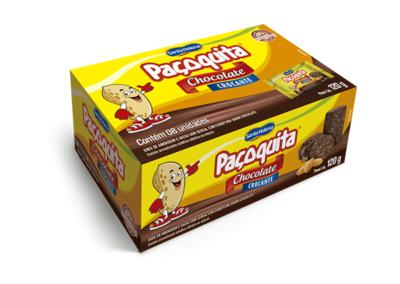 Manteiga de amendoim crocante com cobertura de chocolate